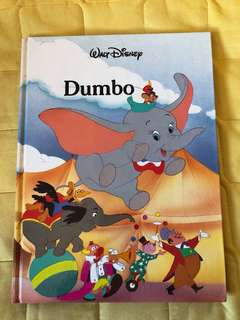 Disney 迪士尼 English book Dumbo 小飛象