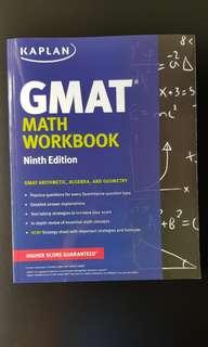 Kapan GMAT ninth edition workbook
