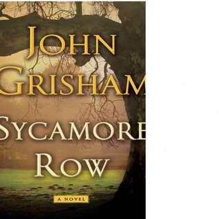 Sycamore Row (Jake Brigance #2) by John Grisham