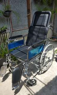 Multifunctional Commode Wheelchair