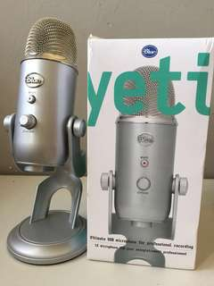 Blue Yeti Microphone - opened but unused