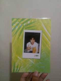 BTS 2017 Summer Package JHope Selfie Book
