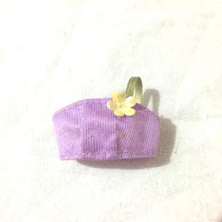Purlple Top with flower for Barbie