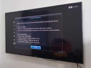 "60"" Inch Samsung 1080p Smart LED TV"