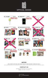 NCT OFFICIAL GOODS