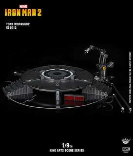 King Arts KSS013 1/9 Scale Iron Man Tony Workshop