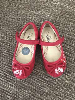M&S Kids Red Girls Shoes (UK 7)