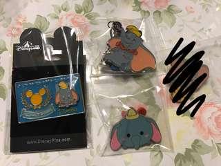 Disney Pin Dumbo Set
