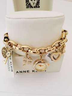 Women's Gold Tone Charm Bracelet Watch, P7,000 free shipping.