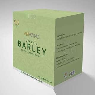 Amazing Pure Organic Barley Capsules