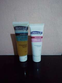 FOR SALE!! Cèleteque hydration gentle exfoliating facial wash ++ Brightening facial wash
