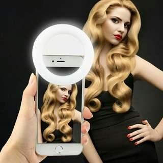BATTERY OPERATED Selfie RingLight