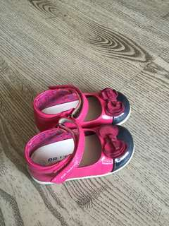 Dr Kong Pink Shoes 2 Years Old (Size 22)