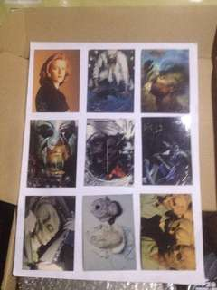 The X Files Collection Cards 2 sets at least 18 pcs circa 1997