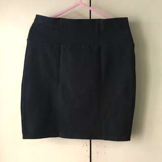 Cotton On Girls' Black Skirt (Size XXS)