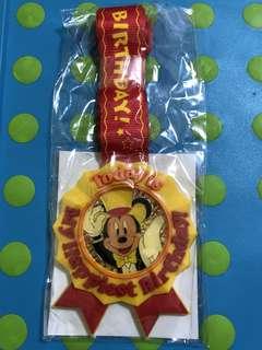 Brand New Unopened Disneyland Tokyo Birthday Medal