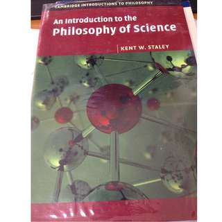 PH2201 Introduction to Philosophy Of Science - by Kent W. Staley