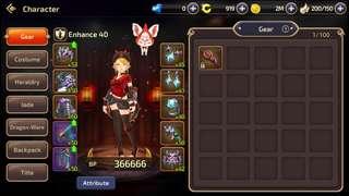 Dragon Nest M SEA Server S52 account