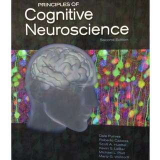 PL3258/PL4206 Principles of Cognitive Neuroscience 2nd edition