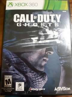 Call of Duty Ghosts Backward Compatible with Xbox One