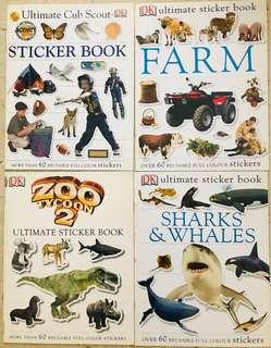 DK Sticker Book 儿童百科剪贴本