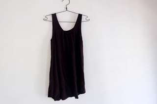 Black Mini Casual Dress Et cetera