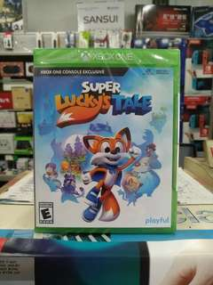 🆕 Xbox One Super Lucky's Tale