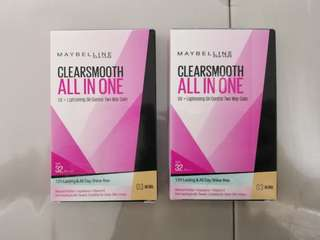 Maybelline Clearsmooth All in One Two way cake