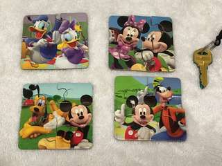Mickey Mouse Clubhouse puzzle set