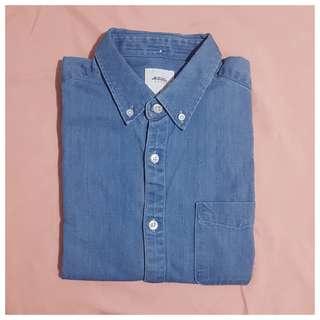 Burton™ Menswear London Denim Shirt - M