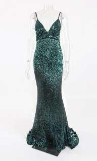 Elegant sequins gown (actual photo already!)