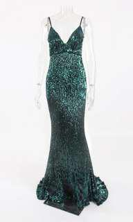 Elegant sequins gown (actual photo already!)