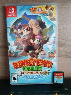 Nintendo Switch Donkey Kong County Tropical Freeze