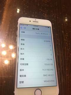 iPhone 6 128g (gold)