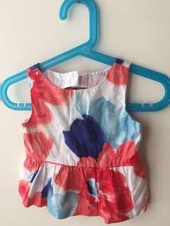 美國Janie &Jack嬰兒露背裝(12-18M)