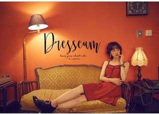🚚 Dresseum 正版 兩種樂章 紅色 S/M