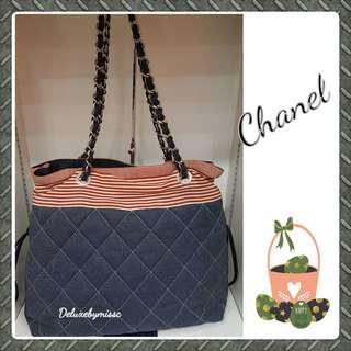 Chanel Jeans Tote Bag