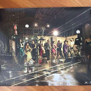 Girls Generation The Boys Japanese Repacked Official Poster