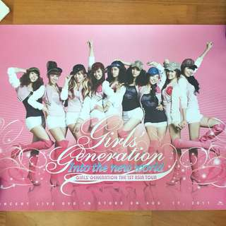 Girls' Generation 1st Asia Tour Official Poster