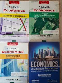 Economics A Levels H1 and H2 books