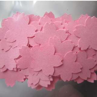100 pcs Sakura Confetti's (for party, art projects or event)
