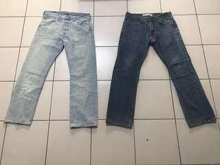 Levi's 501 & 514 Men's Jeans