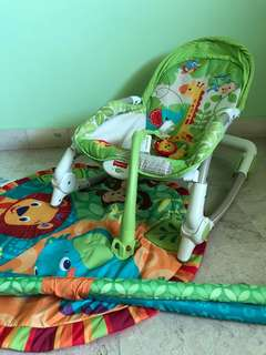 Fisher Price Rocker Bouncer Rocking Chair