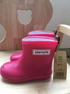 🚚 Stample女童雨鞋/14/