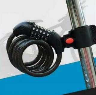 5 Digit Number Bicycle Lock