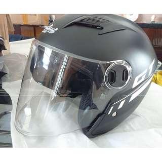 escooter, e- scooter, electric scooter,electric bicycle, full helmet  black gt  double lens
