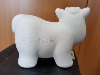 Cow coin box