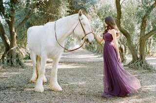 50%off-Jenny Yoo Annabelle Dress (Purple)
