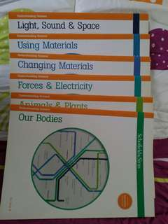 Science Books for Primary Level