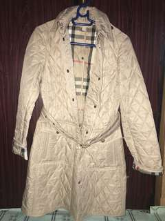 BURBERRY COAT (light brown)
